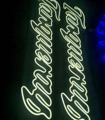 podświetlane przestrzenne logo 3d